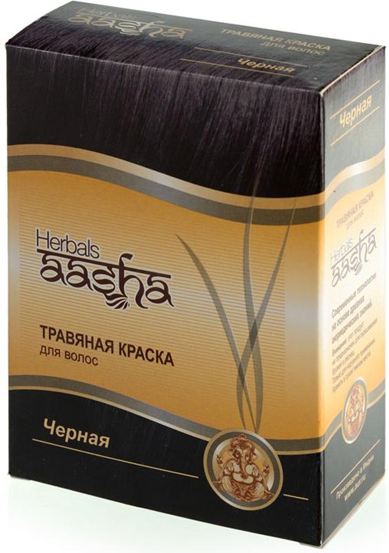 Aasha Herbals Травяная краска для волос Черный, 6 х 10 г766936Композиция индийской хны и растительных экстрактов окрашивает волосы в насыщенный черный цвет, делает волсоы мягкими и послушными, придает им дополнительный объем и здоровый вид. Закрашивает седину при степени до 30%.
