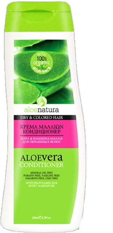 AloeNatura Кондиционер для сухих и окрашенных волос 200 мл aloenatura кондиционер для всех типов волос 200 мл