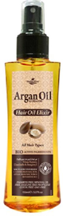 ArganOil Масло-эликсир для волос с маслом арганы 150 мл5200310405303Масло подходит для сухих и поврежденных волос, предупреждает появление секущихся кончиков. Содержит активные ингредиенты: масло Арганы, органическое оливковое масло, подсолнечное масло и витамин Е. Увлажняет, питает и оказывает антиоксидантное действие. Бережно ухаживает за волосами, придает им блеск, незаменим при лечении секущихся кончиков и поврежденных волос. Косметика произведена в Греции на основе органического сырья, НЕ СОДЕРЖИТ минеральные масла, вазелин, пропиленгликоль, парабены, генетически модифицированные продукты (ГМО)