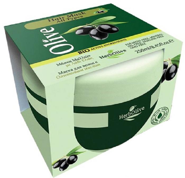 HerbOlive Маска для волос с маслом оливы питание и увлажнение от выпадения 250 мл5200310404337Маска подходит для всех типов волос. Натуральное оливковое масло способствует росту волос, увлажняет, придает объем и эластичность. Предотвращает ломкость волос и появление секущихся кончиков. Маска делает волосы послушными в укладке, сильными и здоровыми, питает кожу головы и волосяные луковицы. Подходит для частого использования. Косметика произведена в Греции на основе органического сырья, НЕ СОДЕРЖИТ минеральные масла, вазелин, пропиленгликоль, парабены, генетически модифицированные продукты (ГМО)