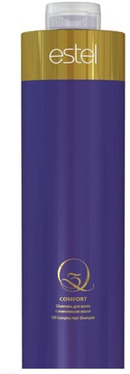 Estel Шампунь для волос с комплексом масел Q3 Comfort 1000 млQ3/1000/SМягко очищает, укрепляет и насыщает структуру волос ценными маслами арганы и макадамии; Наполняет пространство изысканным ароматом Q3, превращая процедуру в истинное наслаждение. Результат: Насыщенный яркий цвет и ослепительный блеск волос. Роскошные здоровые волосы.