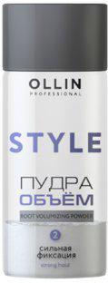 Ollin Пудра для прикорневого объёма волос сильной фиксации Professional Style Strong Hold Powder 10 гр мусс для укладки ollin ollin mp002xu0dxvz