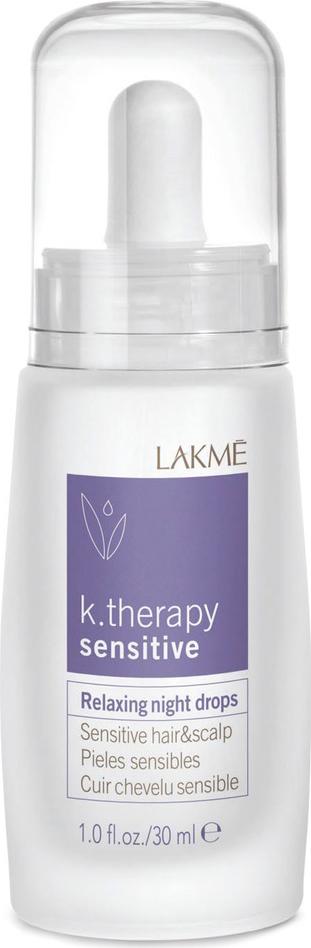 Lakme Ночное успокаивающее средство для чувствительной кожи головы и волос Relaxing Night Drops Hair and Scalp, 30 мл средство для лечения волос и кожи головы