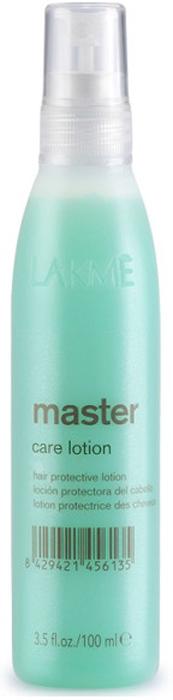 Lakme Лосьон для ухода за волосами Care Lotion, 100 мл45613Лосьон для ухода за волосами Lakme Master Care Lotion - регенерирующий лосьон для пористых волос, требующих кондиционирования и восстановления кутикулярного слоя. Экстракт водорослей, входящий в состав, придает волосам мягкость, восстанавливает кутикулярный слой, улучшает внешний вид волос, делает их послушными.