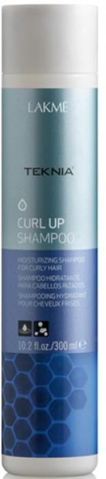 Lakme Шампунь увлажняющий для вьющихся волос и волос после химической завивки Shampoo, 300 мл47412Благодаря специально разработанной формуле восстанавливает структуру вьющихся и химически завитых волос. Делает волосы послушными.Honeyquat – выработанный из меда, натуральный кондиционирующий агент, великолепно увлажняет волосы, дарит им шелковистость и защищает от агрессивного воздействия окружающей среды. Шампунь увлажняющий для вьющихся волос и волос после химической завивки Lakme Teknia Curl Up Shampoo cодержит WAA™ – комплекс растительных аминокислот, ухаживающий за волосами и оказывающий глубокое воздействие изнутри.