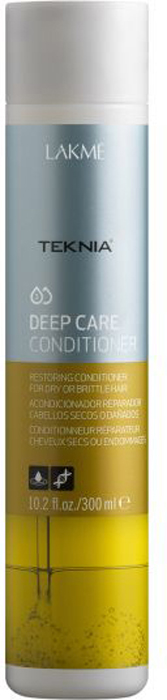 Lakme Кондиционер восстанавливающий для сухих или поврежденных волос Conditioner, 300 мл lakme кондиционер для экспресс ухода за волосами master lak 2 instant hair conditioner 100 мл