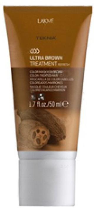 Lakme Средство для поддержания оттенка окрашенных волос Коричневый Treatment, 50 мл lakme средство для поддержания оттенка окрашенных волос фиолетовый treatment 50 мл