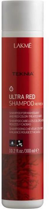 Lakme Шампунь для поддержания оттенка окрашенных волос Красный Shampoo, 300 мл47042Специально разработанная формула с экстрактом кораллины, морскими водорослями и олигоэлементами мягко очищает волосы и предотвращает потерю цвета. Цвету возвращается сияние и богатство оттенков. Волосы снова становятся мягкими. Шампунь для поддержания оттенка окрашенных волос «Красный» Lakme Teknia Ultra Red Shampoo содержит WAA™ – комплекс растительных аминокислот, ухаживающий за волосами и оказывающий глубокое воздействие изнутри.