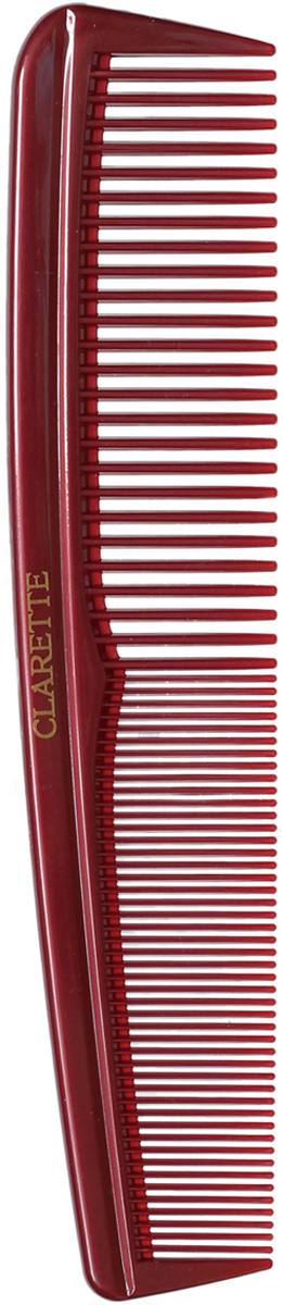 Clarette Расческа для волос универсальная, цвет: бордовыйCPB 096Коллекция Clarette Перламутр- это расчески, щетки и термо-брашинги для ухода за волосами. Коллекция изготовлена из перламутрового пластика в яркой цветовой гамме. Форма расчески позволяет легко и удобно расчесывает даже густы волосы. Подходит для ежедневного применения.