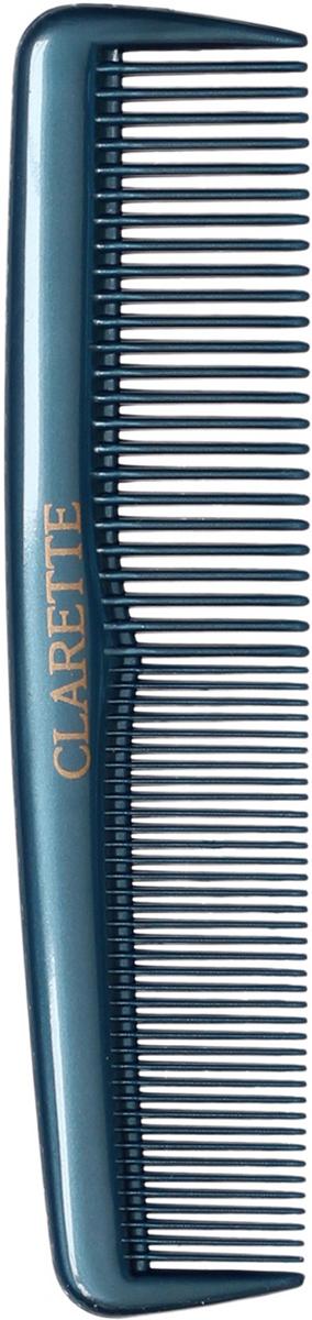 Clarette Расческа для волос карманная, цвет: синий