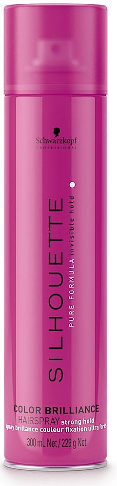 Silhouette Лак-спрей сверхсильной фиксации для окрашенных волос, 500 мл099-61635930Специально для создания укладки и моделирования на прядях, подвергавшихся окрашиванию, лаборатория немецкой косметической компании Schwarzkopf разработала лак-спрей сверхсильной фиксации для окрашенных волос Silhouette Super Hold Colour Brilliance Hairspray. Этот профессиональный продукт имеет уникальную формулу, которая была создана с учетом всех особенностей тонированных, мелированных и окрашенных волос, что позволяет одновременно надежно закреплять форму прически и не причинять вреда полученному оттенку. Действие активных компонентов помогает подчеркнуть яркость, насыщенность цвета волос и способствует удержанию красящего пигмента глубоко в их структуре.Лак-спрей для окрашенных прядей Silhouette в своем составе содержит насыщенный витаминный комплекс. Он обладает способностью действовать одновременно в нескольких направлениях и включает следующие ценные компоненты: Витамин B3. Хорошо питает окрашенные волосы, даря им яркость и блеск. Провитамин B5. Помогает восстановить природный гидробаланс волос, выпрямляет и разглаживает их от корней до кончиков, делая более шелковистыми и эластичными. Витамин E. Имеет сильные антиоксидантные свойства, эффективно нейтрализует действие свободных радикалов и противодействует процессам старения волос. За счет присутствия в составе УФ-фильтров продукт эффективно предотвращает выгорание окрашенных волос, которые находятся под действие солнечных лучей. В результате использования этого укладочного средства удается обеспечить максимально надежную фиксацию укладок любой формы, при этом волосы получают превосходную защиту от выгорания и потери цвета.