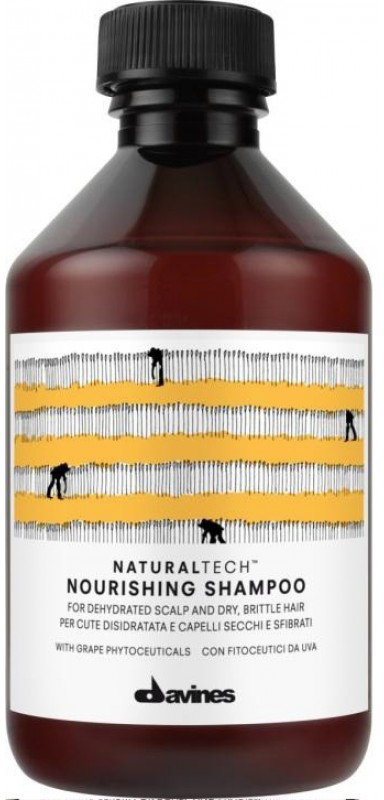 Davines Питательный шампунь New Natural Tech Nourishing Shampoo, 250 мл ollin professional питательный шампунь nourishing shampoo 250 мл питательный шампунь nourishing shampoo 250 мл