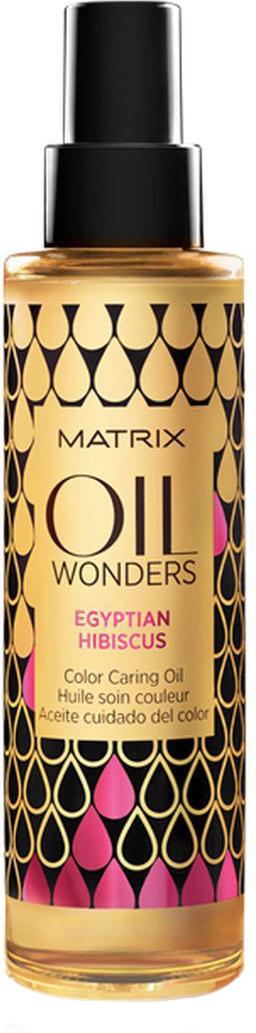 Matrix Oil Wonders Масло для окрашенных волос египетский гибискус, 150 мл21188194Масло для защиты цвета окрашенных волос Oil Wonders (Ойл Вандерс) содержитэкстракт Египетского гибискуса. Отличается приятным ароматом, сохраняетяркость цвета окрашенных волос, обеспечивая им мягкость и невероятный блеск.Сохраняет яркость цвета окрашенных волос. На 75% больше блеска.Подходит для всех типов волос.