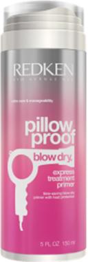 Redken Blow Dry Express Treatment Primer Термозащитный крем, ускоряющий время сушки, 150 млP1200000Express Treatment Primer предназначен для термозащиты до 232 градусов при укладке феном. Ускоряет сушку, питает и увлажняет волосы. Облегчает укладку.