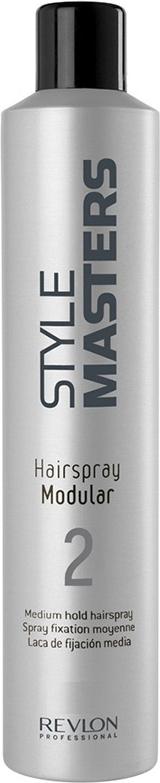 Revlon Professional SM Hairspray Modular - Лак средней фиксации 75 мл6108909000Лак средней фиксации Hairspray Modular от Revlon Professional – прекрасное средство для создания причёсок различной степени фиксации. Укладки средней и сильной фиксации формируются, в зависимости от количества наносимого средства.«Хэйрспрей Модулар» не склеивает волосы, сохраняет их естественную лёгкость и гибкость, усиливает природный блеск. С волос средство легко удаляется даже без мытья при помощи простого расчёсывания.