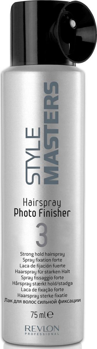 Revlon Professional SM Hairspray Photo Finisher -Лак сильной фиксации 75 мл