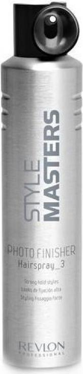Revlon Professional SM Hairspray Photo Finisher - Лак сильной фиксации 500 мл81511598/2682Нередко в нашей жизни происходят события, которые требуют от нас идеального внешнего вида: эффектного макияжа, стильной одежды, безупречной причёски, за которой не требуется ухаживать в течение дня.Лак сильной фиксации Hairspray Photo Finisher от Revlon Professional поможет вашей укладке сохранить свой потрясающий внешний вид на целый день. Этот продукт для укладки из серии Style Masters оснащён специальным аппликатором, облегчающим нанесение на волосы. Благодаря этому, вы можете равномерно распределять лак по всей причёске.«Хэйрспрей Фото Финишер» обеспечивает мгновенную фиксацию надолго. Средство легко удаляется, не оставляя следов.
