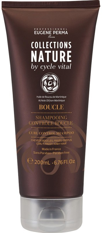 Eugene Perma Cycle Vital Nature Shampooing Controle Boucle - Шампунь для вьющихся волос 250 мл81554580Обеспечивает мягкость и эластичность. Придает блеск и облегчает укладку.