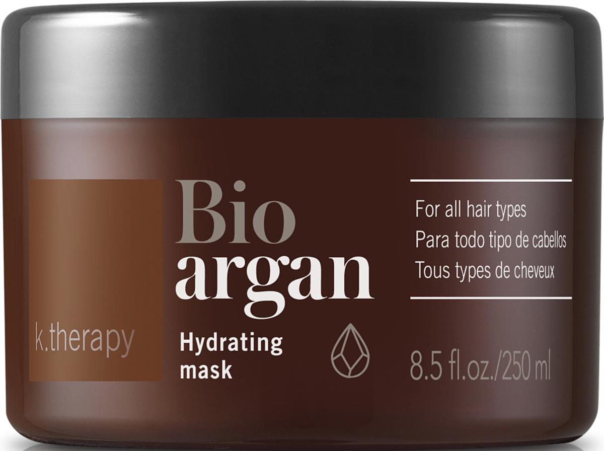 Lakme K.Therapy Bio-Argan Hydrating Mask - Увлажняющая маскас аргановым маслом 250 мл43005Увлажняющая маска со 100% органическим маслом арганы. Преимущества: Обеспечивает глубокое питание и увлажнение. Вновь придает волосам блеск, мягкость и эластичность. Защищает от агрессивных воздействий окружающей среды. Для всех типов волос. Активные компоненты: Керамид III - Свойства, направленные на борьбу со старением. Защищает волосы от внешних воздействий. Восстанавливает поврежденные волосы и секущиеся кончики волос. Придает волосам эластичность, блеск и интенсивное питание.
