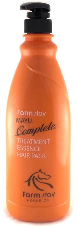 FarmStay Пительная маска для волос с лошадиным маслом, 1000 мл8437011863980Маска - тритмент для волос с концентрированной ессенцией с лошадиным маслом предназначена специально для улучшения состояний безжизненных, тусклых волос. Маска питает и восстанавливает слабые волосы, делает их сильными, крепкими, гладкими и шелковистыми. Питательные вещества в составе маски смягчают и увлажняют волосы, а особая разглаживающая формула значительно облегчает расчесывание, лечит секущиеся кончики, не позволяет волосам спутываться. Животный жир богат незаменимыми жирными кислотами (например, в нем содержится альфа-липоевая и линолевая кислоты, а также витамин А и Е). Лошадиное масло особенно ценится тем, что он лучше других жиров усваивается волосами, так как имеет состав, схожий с человеческой жировой секрецией. Именно поэтому данное вещество не отторгается организмом. Уже после первого применения вы заметите, что волосы заблестели, стали более здоровыми, упругими и живыми.