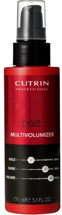 Cutrin Chooz Perms Лосьон для придания объема, 150 мл12783Cutrin Chooz Multivolumizer — лосьон для создания объема, текстуры и формы волос. Прекрасное многофункциональное средство обеспечит не только подвижную и легкую укладку с объемом у корней, но и придаст волосам естественную фиксацию. Специальный состав лосьона содержит UV-фильтры и термозащиту, которые защитят укладку в любых погодных условиях, а также облегчат укладку волос горячим утюжком и спасут от истончения и пересыхания. А уникальная ухаживающая формула придаст волосам легкость, шелковую гладкость и ослепительный блеск. Увлаженные, смягченные ухоженные красивые волосы — результат использования Cutrin Chooz Multivolumizer. Лосьон незаменим как для длинных, так и для коротких волос — для создания объема и красивой текстура и завершения укладок.