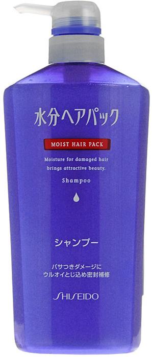 Шампунь Moist Hair Pack, для поврежденных волос, c цветочным ароматом, 600 мл807550Шампунь Moist Hair Pack рекомендован для восстановления поврежденных волос.-Мягко очищает, увлажняет и смягчает волосы, восстанавливает поврежденные участки, обеспечивая волосам гладкую и эластичную структуру.-Действует как при внутренних повреждениях ткани волоса, так и в случае повреждения кутикулы.-Высокомолекулярные полимеры (диметикон) покрывают волосы тончайшей пленкой, которая защищает их от пересыхания.-Входящий в состав аргинин придает волосам природную силу, эластичность и послушность.-После применения шампуня, волосы приобретают ухоженный вид, выглядят здоровыми и красивыми.-Обладает нежным цветочным ароматом. Характеристики: Объем: 600 мл. Производитель: Япония. Артикул: 807550.Товар сертифицирован.