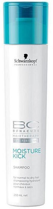 Bonacure Шампунь Интенсивное Увлажнение для ослабленных волос Moisture Kick Shampoo 250 мл