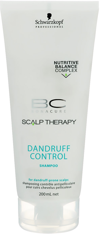 Bonacure Шампунь против перхоти Scalp Therapy Dandruff Control Shampoo 200 мл1753147Шампунь для контроля над перхотью для всех типов волос и кожи головы, склонной к появлению перхоти. СодержитЦинк Пиритион, который эффективно борется с образованием перхоти, предотвращая распространениемикроорганизмов, вызывающих ее повторное появление. Формула содержит экстракт лемонграсса, известногосвоими антиоксидативными и антибактериальными качествами. Аллантоин помогает предотвратить раздражениекожи, а пантенол балансирует содержание влаги в волосах и коже головы. Для достижения максимальногорезультата рекомендуется использовать в комплексе с сывороткой BC Scalp Therapy Dandruff Control.