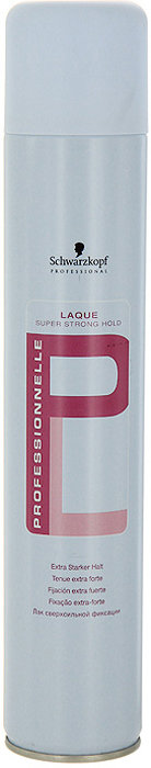 Лак для волос Professionnelle, сверхсильная фиксация, 500 мл bonacure bc мусс для волос professionnelle сверхсильная фиксация 500 мл
