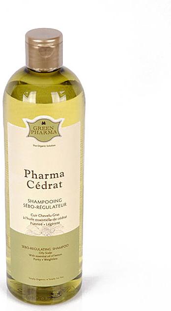 Шампунь Greenpharma Pharma Cedrat cеборегулирующий, с эфирным маслом цитрона, 500 мл ge pharma jetfire в одессе