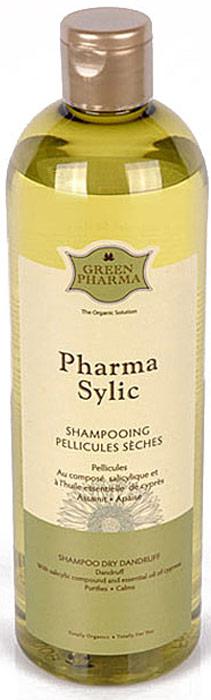 "Шампунь Greenpharma ""Pharma Sylic"" от перхоти, для частого применения, 500 мл"