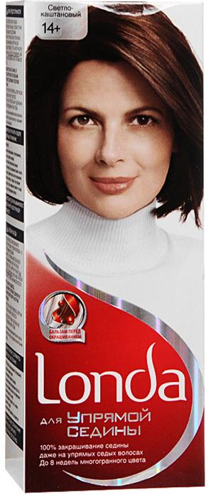 Крем-краска для волос Londa, для упрямой седины, 14+. Светло-каштановыйLC-81308655Хотите избавиться от упрямой седины? Крем-краска для волос Londa идеально вам подойдет. Седые волосы имеют жесткую текстуру, поэтому они трудно поддаются прокрашиванию. Эта крем-краска специально разработана для направленного действия на самые неподдающиеся седые волосы. Это возможно благодаря действию эксклюзивному бальзаму перед окрашиванием, который помогает восстановить текстуру ваших волос для лучшего впитывания краски. Таким образом, краска проникает внутрь волоса и остается там. Результат: 100% закрашивание седины, до 8 недель стойкого цвета, многогранный цвет, естественный вид. Характеристики:Номер краски: 14+. Цвет: светло-каштановый. Проявитель: 50 мл. Крем-краска: 50 мл. Бальзам: 10 мл. Производитель: Россия. В комплекте: 1 тюбик с краской, 1 тюбик с проявителем, 1 пакетик с бальзамом перед окрашиванием, 1 пара перчаток, инструкция по применению. Товар сертифицирован.Внимание!Продукт может вызвать аллергическую реакцию, которая в редких случаях может нанести серьезный вред вашему здоровью. Проконсультируйтесь с врачом-специалистом перед применением любых окрашивающих средств.