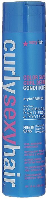 Sexy Hair Кондиционер Curly для кудрей, 300 млКУ11Формула DinamiX увеличивает количество завитков. Подходит для всех типов вьющихся волос. Обеспечивает супер кондиционирование и увлажнение. Входящие в состав протеины шелка и сои укрепляют волосы, а пантенол делает их послушными. Кондиционер хорошо разглаживает и избавляет волосы от эффекта мелкого беса. Придает четкую форму локонам. Сохраняет форму локонов в течение всего дня. Придает волосам необыкновенный блеск. Облегчает расчесывание. Характеристики:Объем: 300 мл. Производитель: США. Товар сертифицирован.