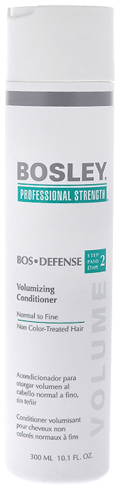 Bosley Кондиционер для объема нормальных, тонких и неокрашенных волос, 300 млКУ7Кондиционер Bosley для волос и кожи головы, не содержит парабенов, наполняет их невесомым объемом и блеском.Осуществляет лечение волос от выпадения в домашних условиях. Разглаживает кутикулу и заметно утолщает волосы.Экстракт водорослей способствует защите от фотостарения, частого мытья и механических повреждений в результате расчесывания.Содержит LifeXtend комплекс, который стимулирует производство белка кератина в луковице волос и укрепляет всю структуру волоса. Характеристики:Объем: 300 мл. Производитель: США. Товар сертифицирован.