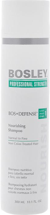 Bosley Шампунь питательный, для нормальных, тонких и неокрашенных волос, 300 мл