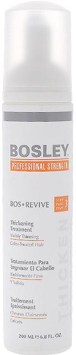 Bosley Уход, увеличивающий густоту истонченных и окрашенных волос, 200 млБОУ1Ежедневный несмываемый омолаживающий и питательный уход Bosley для заметно истонченных окрашенных волос. Восстанавливает и омолаживает волосы и кожу головы благодаря комплексу LifeXtend, помогая уменьшить действие ДГТ. Утолщающая технология добавляет силу и невесомый объем. Технология ColorKeeper сохраняет яркость цвета окрашенных волос на более длительный срок.Способ применения: наносить ежедневно на кожу головы и волосы после применения шампуня и кондиционера. Не смывать! Характеристики:Объем: 200 мл. Производитель: США. Товар сертифицирован.