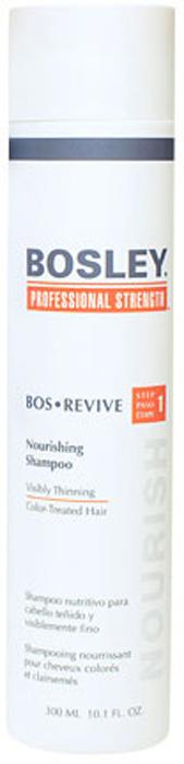 Bosley Шампунь питательный, для истонченных и окрашенных волос, 300 мл