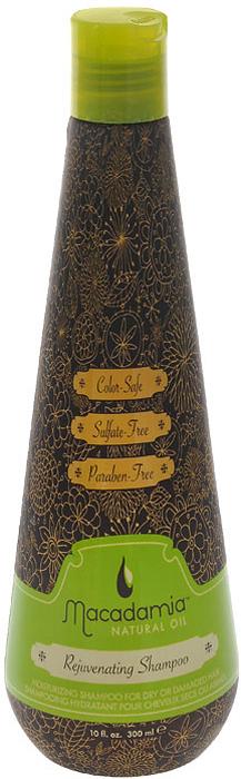 Macadamia Natural Oil Шампунь для волос восстанавливающий, с маслом арганы и макадамии, 300 мл macadamia natural oil окислитель 9% developer macadamia colors 1000мл