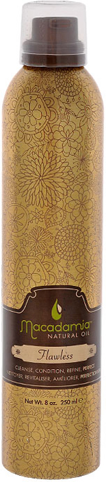 Macadamia Natural Oil Крем-мусс для волосБез изъяна, 250 мл insight styling oil non oil масло для укладки волос 250 мл
