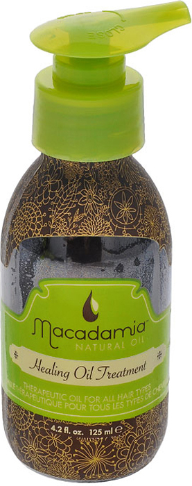 Macadamia Natural Oil Масло для волос Healing oil treatement, восстанавливающее, 125 мл спрей macadamia healing oil spray объем 125 мл
