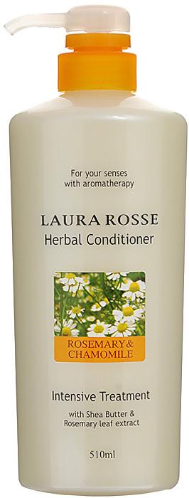 Laura Rosse Растительный кондиционер Ромашка и розмарин, 510 мл295714Душистый растительный кондиционер насыщает волосы влагой, делает их мягкими и послушными. Волосы легко расчесываются. Богатый состав средства, включающий растительные и питательные компоненты, поможет восстановить естественную жизненную силу ваших волос.Идеально подходит для всех типов волос, особенно для сухих, поврежденных и ослабленных после окрашивания. Характеристики:Объем: 510 мл. Артикул: 295714. Производитель: Корея. Товар сертифицирован.