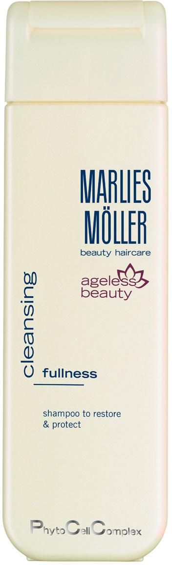 Marlies Moller Шампунь Ageless Beauty, для восстановления роста и защиты волос, 200 мл104219MMsМягкий шампунь без силиконов рекомендуется для истонченных волос. Не только тщательно очищает волосы, но активизирует корни волос, усиливает процессы регенерации и роста здоровых волос. Специальные полимеры придают волосам объем. Шампунь защищает волосы от УФ-лучей и от вредного воздействия окружающей среды. Интенсивно увлажняет. Премиальный уход с профессиональным эффектом. Высокая концентрация активных компонентов.В зависимости от длины волос возьмите небольшое количество шампуня (размером с 1-2 лесных ореха) и вспеньте его в ладонях. Легкими круговыми массажными движениями нанесите шампунь, расположив одну руку спереди, другую - на затылке. Повторите массажные движения столько раз, сколько Вам нравится. Тщательно ополосните голову.