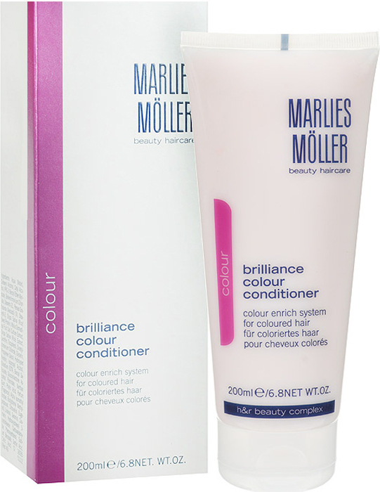 Marlies Moller Кондиционер Brilliance Colour для окрашенных волос, 200 мл ампулы marlies moller specialist revital density haircure 6 мл