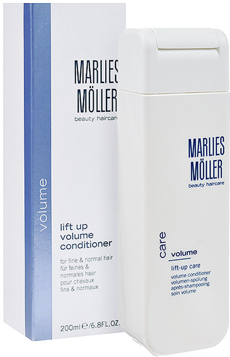 Marlies Moller Кондиционер Volume, для придания объема волосам, 200 мл шампунь marlies moller luxury vitality exquisite vitamin shampoo 200 мл