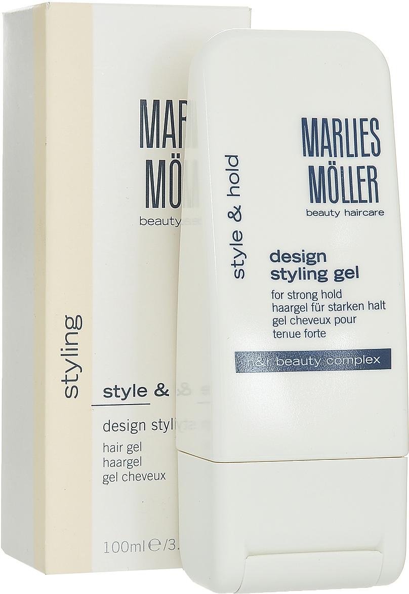 Marlies Moller Гель Styling, для креативной укладки волос, 100 мл25666MMsФиксирует прическу, не склеивая волосы. Очень сильная укладка для любых волос. Рекомендуется для любого типа укладки (укладка феном, укладка руками, укладка на бигуди, подчеркивание прядей, создание эффекта мокрых волос). Можно наносить на влажные и на сухие волосы. Создает эффект мокрых волос, если наносить на влажные волосы. Если на сухие - эффект гладких волос. Увлажняет волосы и препятствует потере влаги. Придает волосам блеск. Легко удаляется с волос. УФ-защита. Не содержит алкоголь и смолы. Идеален для защиты волос от солнца и соленой воды на пляже.Возьмите небольшое количество средства. В зависимости от желаемого эффекта нанесите на сухие или подсушенные полотенцем волосы, уложите как обычно.