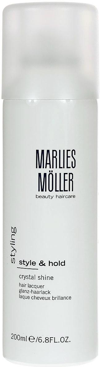 Marlies Moller Лак Styling для волос, кристальный блеск, 200 мл эликсир успокаивающий 50 мл marlies moller эликсир успокаивающий 50 мл