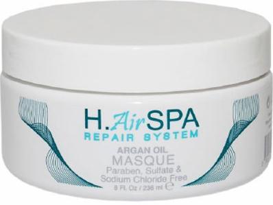 H.AirSPA Маска Argon Oil на масле арганы, 236 млHS84Интенсивная маска H.AirSPA Argon Oil создана для глубокого восстановления и увлажнения поврежденных волос. При регулярном использовании возвращает волосам блеск и эластичность. Характеристики:Объем: 236 мл. Артикул: HS84. Производитель: США. Товар сертифицирован.