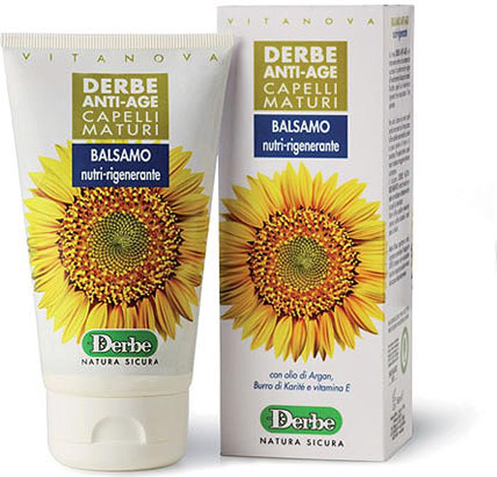 Derbe Кондиционер для волос Anti-Age, с маслом арганы, карите и витамином Е, 150 мл hajet hj 02