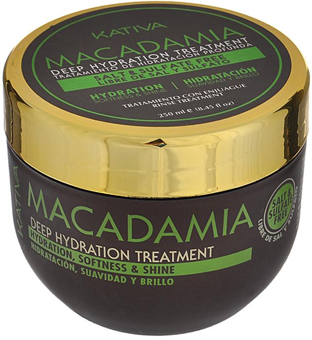 Kativa Интенсивно увлажняющий уход для нормальных и поврежденных волос с маслом макадамии MACADAMIA, 250мл65807245Маска-уход возвращает волосам природную силу, восстанавливая изнутри их структуру. После использования они становятся послушными, гладкими и сияют здоровьем. Масло макадамии обеспечивает глубокое увлажнение, разглаживает чешуйки волос, предотвращает их ломкость. Способ применения: нанести на чистые влажные волосы по всей длине. Оставить на 10-15 минут для глубокого воздействия, а затем тщательно смыть. Рекомендуется использовать 2 раза в неделю. Товар сертифицирован.