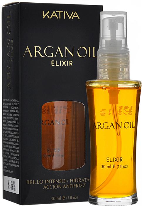 Kativa Защитное масло для волос Эликсир Арганы ARGAN OIL масло kativa morocco argan oil nuspa масло